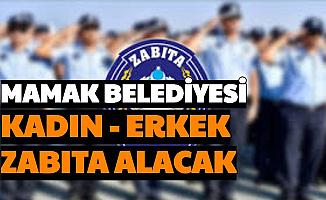 Ankara Mamak Belediyesi Zabıta Memuru Alacak
