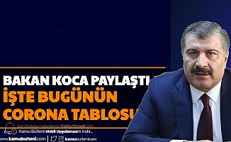 Bakan Koca Açıkladı: İşte Türkiye Koronavirüs Tablosu Vaka Sayısı