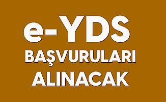 e-YDS 2020/12 İngilizce Başvuruları Alınacak
