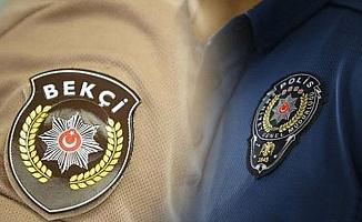 EGM İnceleme Başlattı: Polis ile Bekçinin Kavgası Kameralara Yansıdı