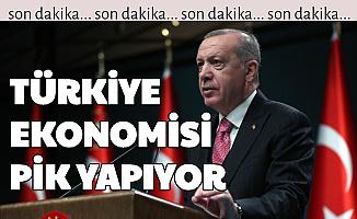 """Erdoğan: """"Türkiye Ekonomisi Pik Yapıyor"""""""