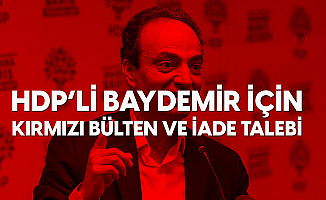 HDP'li Osman Baydemir için Kırmızı Bülten Talebi