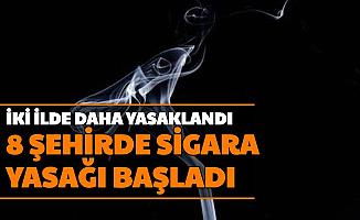 İki Şehirde Daha Sigara Yasağı Geldi: İşte Kısıtlama Gelen 7 Şehir