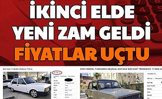 İkinci El Arabada Yeni Zam Geldi: Sahibinden ve Galeriden Araç Fiyatları Uçtu