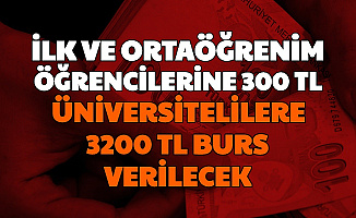 İlk ve Orta Öğrenim Öğrencilerine 300, Üniversitelilere 3200 TL Burs Müjdesi (İBB Burs Başvuru)