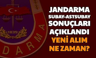 Jandarma Subay Astsubay Alımı Sonuçları Açıklandı-Yeni Alım Ne Zaman?