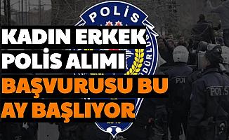Kadın Erkek Polis Alımı Başvurusu Eylül'de Başlayacak