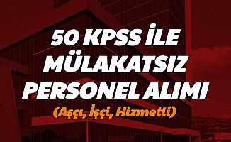 Kayseri Üniversitesi İşçi ve Hizmetli Alımı Yapacak-50 KPSS ile En Az Lise Mezunu