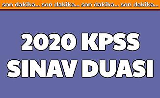 KPSS 2020 Sınav Duası: Sınav Öncesi ve Sınav Sırasında Okunacak Dualar Sureler