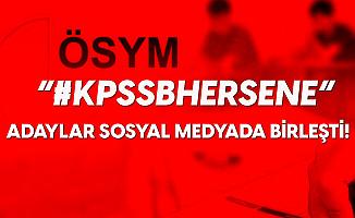 """Memur Adayları Sosyal Medyada Birleşti! """"KPSS B Her Sene"""""""