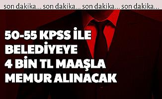 Şarköy Belediyesi 50-55 KPSS ile Memur Alımı Yapacak
