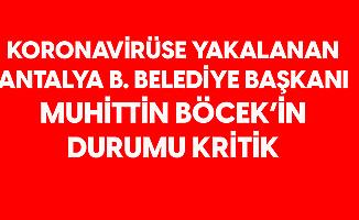 Son Dakika: Koronavirüse Yakalanan Antalya Büyükşehir Belediye Başkanı Muhittin Böcek'in Durumu Ciddiyetini Koruyor