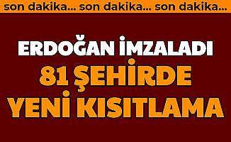 Son Dakika: Türkiye genelinde Yeni Kısıtlama genelgesi