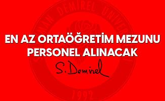 Süleyman Demirel Üniversitesi'ne Sözleşmeli Sağlık Personeli Alınacak