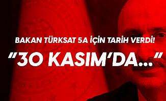 Ulaştırma Bakanı Karaismailoğlu: Türksat 5A 30 Kasım'da Uzaya Fırlatılacak