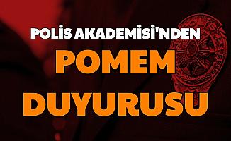 720 Kişi Polis Olacak: Polis Akademisi'nden POMEM Duyurusu (Yeni Polis Alımı Ne Zaman?)