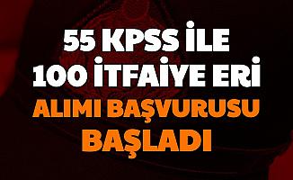 Antalya Büyükşehir Belediyesi 100 İtfaiye Eri Alımı Başvurusu Başladı 55 KPSS ile