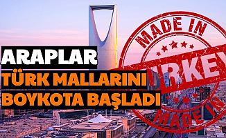 Araplardan Türk Mallarına Boykot