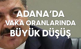 Bakan Koca'dan Son Dakika açıklamaları: Adana'da Vaka Sayılarında %66 Azalma Meydana Geldi