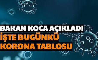 Fahrettin Koca Açıkladı: İşte Bugünkü Türkiye Koronavirüs Tablosu