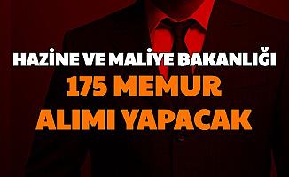 Hazine ve Maliye Bakanlığı Vergi Müfettiş Yardımcılığı İlanı: 175 Memur Alınacak