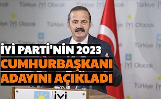 İYİ Parti'nin 2023 Seçimlerindeki Cumhurbaşkanı Adayını Açıkladı