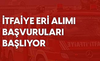 Muğla Büyükşehir Belediyesi'ne İtfaiye Eri Alımı Başvuruları Başlıyor