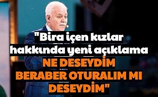 """Nihat Hatipopğlu: Gençler """"Aferin Devam Edin mi Deseydim"""""""
