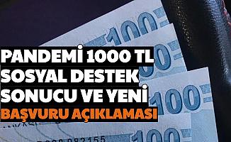 Erdoğan Açıklamıştı: İşte Pandemi Sosyal Destek Başvuru Sonucu ve Yeni Başvuru Açıklaması