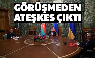 Rusya'daki Görüşmeden Ateşkes Çıktı: Azerbaycan Ermenistan Ateşkesinin Detayları Belli Oldu
