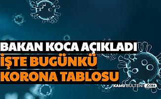 Son Dakika Haberler... İşte Bugünün Türkiye Koronavirüs Tablosu