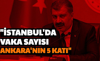 Son Dakika: İstanbul'da Vaka Sayısı Ankara'nın 5 Katına Çıktı