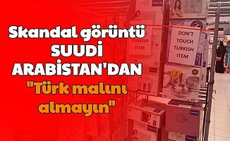 Suudi Arabistan Boykotu Genişletti: Marketlerdeki Ürünlerin Üzerine 'Türk Malı Almayın' Yazdılar