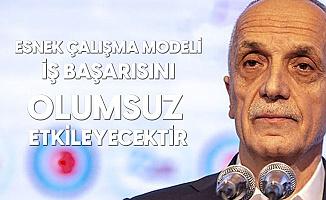 Türk İş'ten Esnek Çalışma Modeli Açıklamasına Tepki