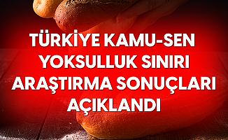 Türkiye Kamu-Sen'den Yoksulluk Sınırı Açıklaması: Alım Gücü 9 Ayda %4.6 Eridi