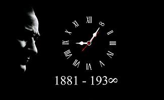 """10 Kasım Atatürk'ü Anma Günü Resimleri Mesajları: """"Benim Naciz Vücudum Elbet Bir Gün Toprak Olacaktır ancak Türkiye Cumhuriyeti ilelebet payidar kalacaktır"""""""