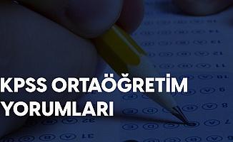 22 Kasım KPSS Ortaöğretim Zor muydu, Kolay Mıydı? KPSS Ortaöğretim Sınav Yorumları...