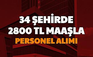 34 Şehre İŞKUR'dan Personel Alımı Başladı: 2800 TL Maaşla