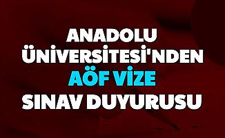 Anadolu Üniversitesi Vize Sınav Takvimini ve Soru Tarzlarını Yayımladı