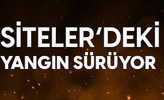 Ankara Siteler'de Çıkan Yangın Devam Ediyor