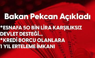 Bakan Pekcan'dan İzmir'de Felaketten Etkilenen Esnafa Destek Sözü: 50 Bin Liraya Kadar Hibe Verecek, Borçları 1 Yıl Erteleyeceğiz