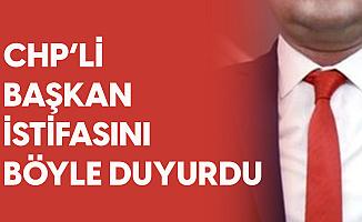 CHP'li Menemen Belediye Başkanı Partisinden İstifa Etti