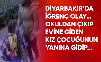Diyarbakır'da Mide Bulandıran Olay! Yüzüne Hapşırdıktan Sonra...