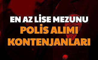 EGM En Az Lise Mezunu Polis Alımı Kontenjanları (PMYO, PAEM POMEM 2021)