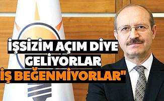 """'Ekonomik Kriz Yok' Diyen AK Partili Sorgun: """"Açım Diye Geliyorlar İş Beğenmiyorlar"""""""