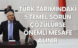 Fahrettin Yokuş: Türk Tarımındaki 5 Temel Sorunu Çözülürse, Önemli Mesafe Alırız
