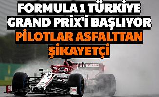 Formula 1 Türkiye Grand Prix'i Başlıyor-İşte Saati ve Kanalı