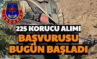 İl ve İlçe Jandarmaya 225 Güvenlik Korucusu Alımı Yapılacak: Başvurular Başladı