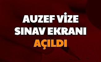 İstanbul Üniversitesi Duyurdu: AUZEF Vize Sınav Ekranı Açıldı (Sinav.istanbul)