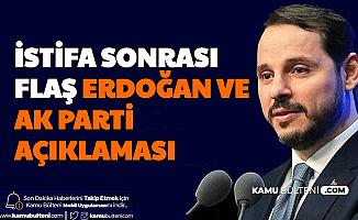 İstifa Sonrası Flaş AK Parti ve Erdoğan Açıklaması